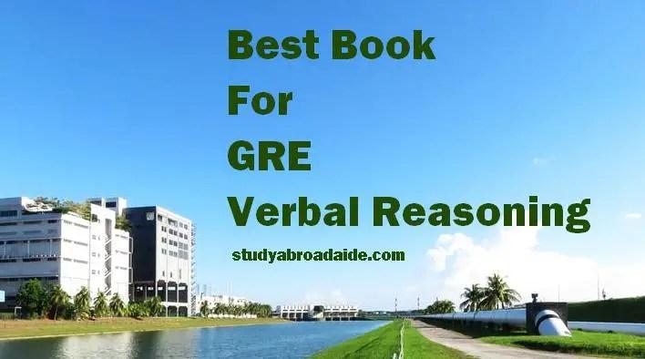 Best Book For GRE Verbal Reasoning