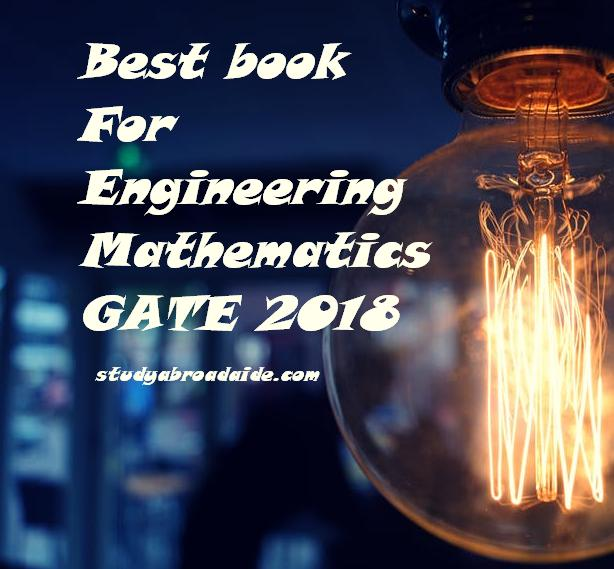 Best book for Engineering Mathematics for GATE 2018