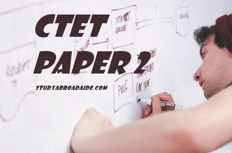 CTET Paper 2