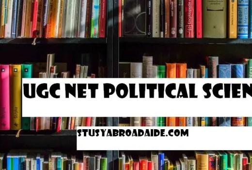 UGC NET Political Science Books