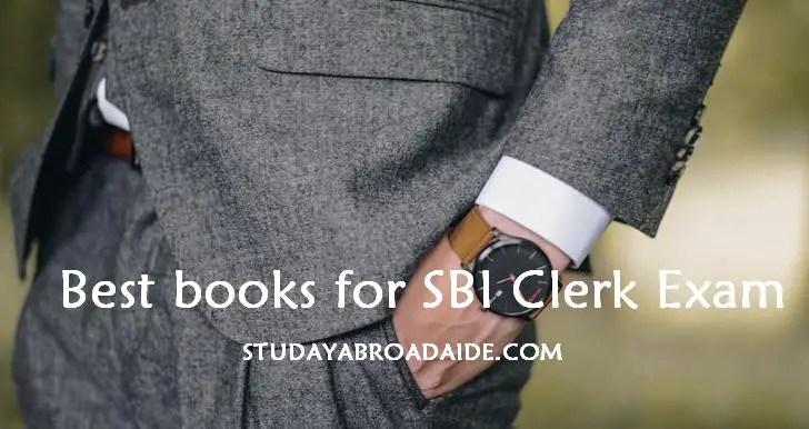 Best books for SBI Clerk Exam