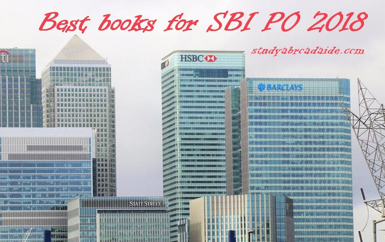 Best books for SBI PO 2018