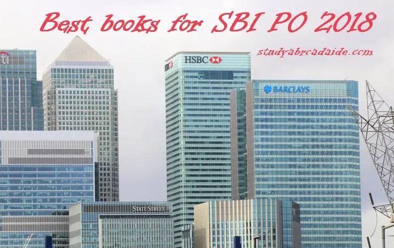 Best books for SBI PO 2018