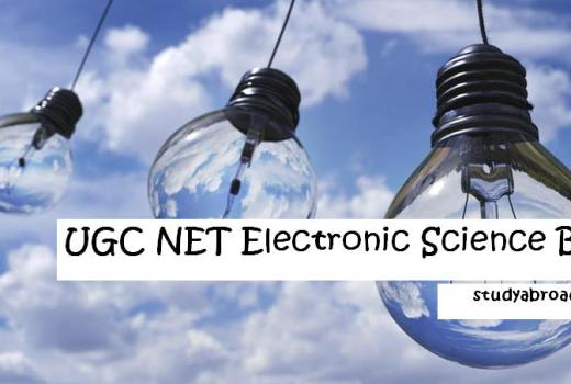 UGC NET Electronic Science Books