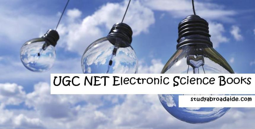UGC NET Electronic Science Books