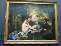 Edouard Manet: Le Déjeuner sur l'herb