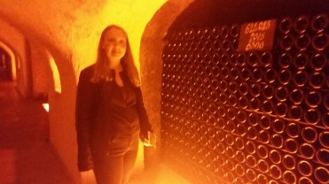 Me in the wine cave