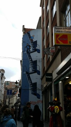 Mural of Tin Tin