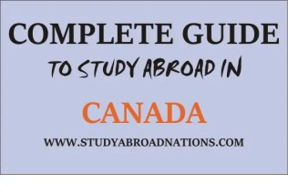 Guide to study abroad in Canada