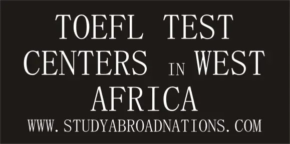 TOEFL test centers