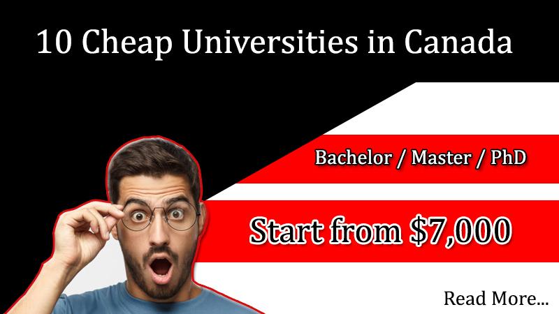 Cheap Universities in Canada