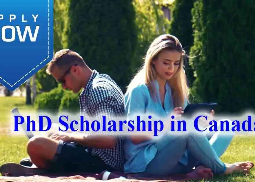 phd scholarships in canada