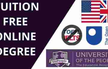 tuition free online universities for international students