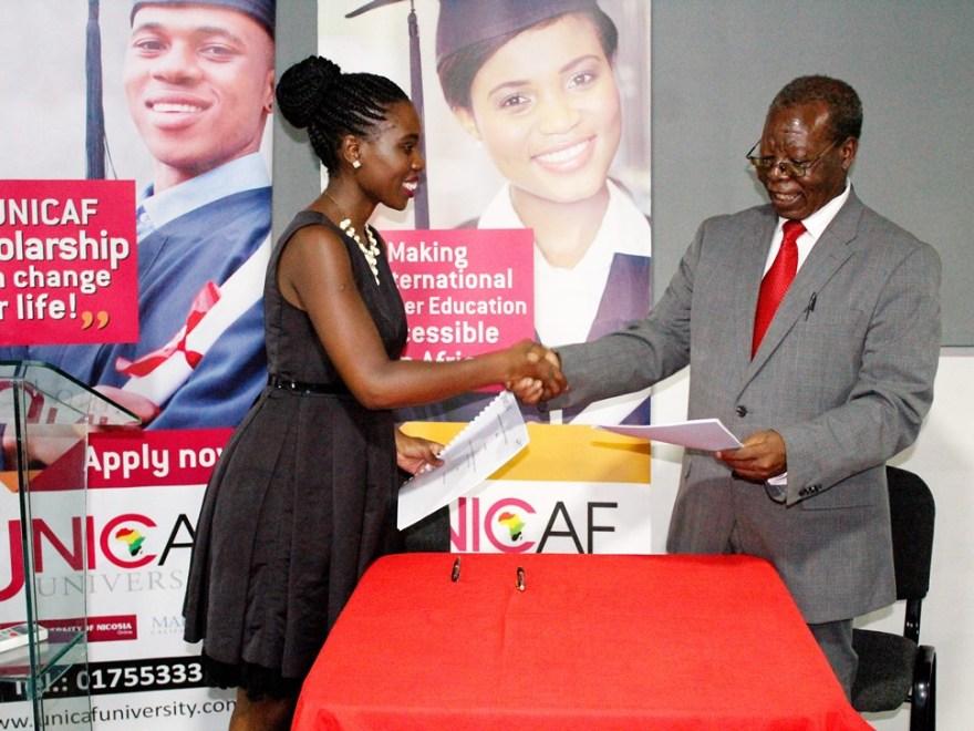 UNICAF scholarship eligibility
