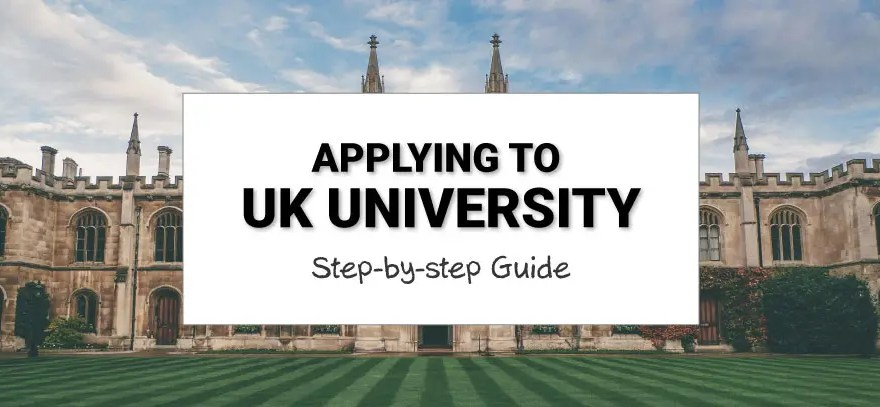 how to apply for universities in UK