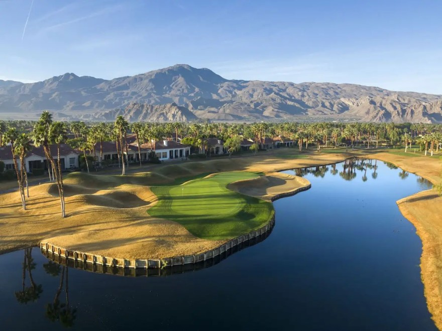 PGA West private clubhouse and golf courses