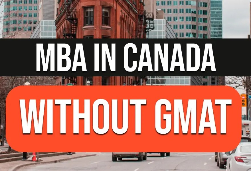 MBA non in Canada GMAT