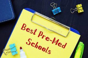 top 100 pre-med schools