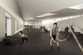 træningshal