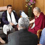 Bollywood Superstar Salman Khan met Dalai Lama in Ladakh