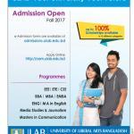 ULAB Admission Fall 2017