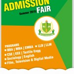 Green University Admission Fair Summer 2018