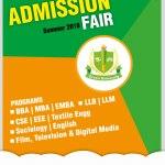 Green University Admission Fair 2018 Summer Semester
