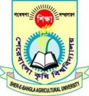 Sher-e-Bangla Agricultural University Admission Circular 2018-2019