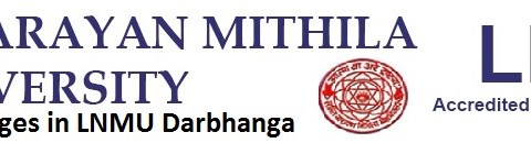 list of arts college in LNMU Darbhnaga