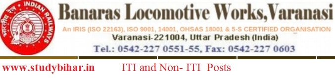 Apply - ITI and Non-ITI Vacancy-2021 in BLW (Railway) Last Date- 15/02/2021.