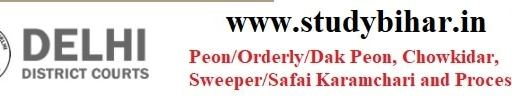 Apply- Peon/Orderly/Dak Peon and Server Posts Vacancy in DDC, Last Date-21.02.2021.