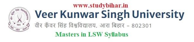 Download the Masters in LSW Syllabus of Veer Kunwar Singh University, Ara-Bihar