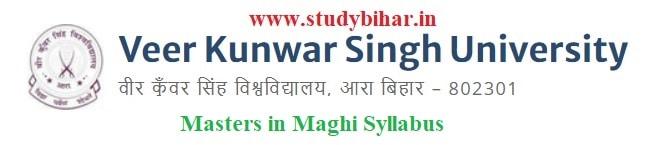Download the Masters in Maghi Syllabus of Veer Kunwar Singh University, Ara-Bihar