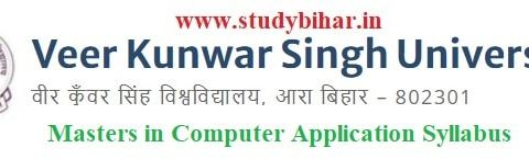 Download the MCA Syllabus of Veer Kunwar Singh University, Ara-Bihar