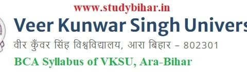 Downlaod BCA Syllabus of Veer Kunwar Singh University, Ara-Bihar
