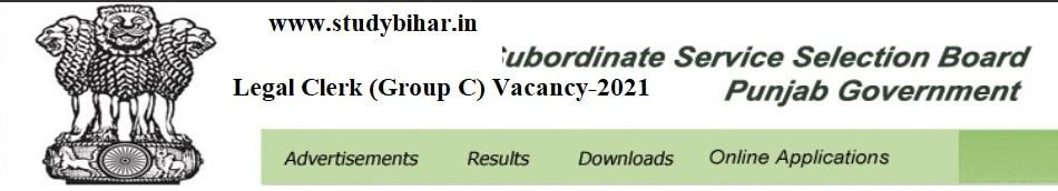 Apply Online for Legal Clerk (Group C) Vacancy-2021, Last Date-10/05/2021.