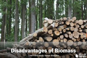 disadvantages of biomass