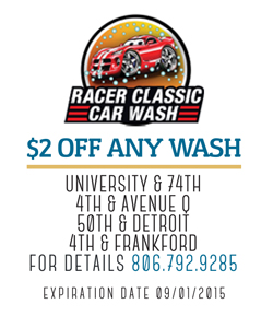 Racer Car Wash Lubbock