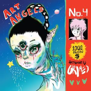 "Album Artwork from Grimes' ""Art Angels"""
