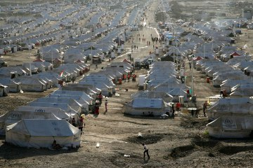 Syrian Refugee Camp in Egypt