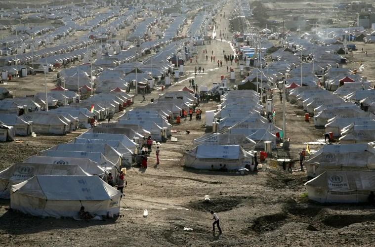 Syrian Refugee Camp in Egypt