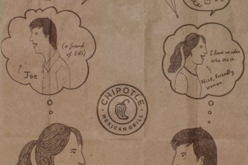 Chipotle Brown Bag Comic