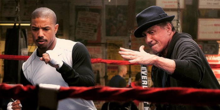 Adonis Creed and Rocky Balboa