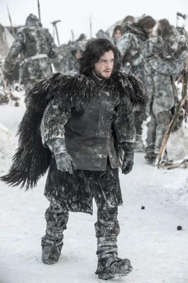 Jon Snow's OOTD