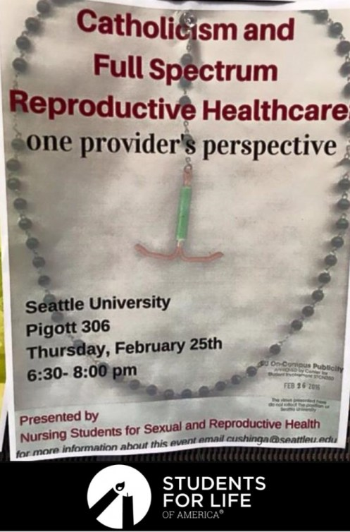 Why My Catholic University Cancelled an Abortion Seminar