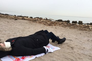 Staycations from Hell: I Got Hypothermic at Lake Erie