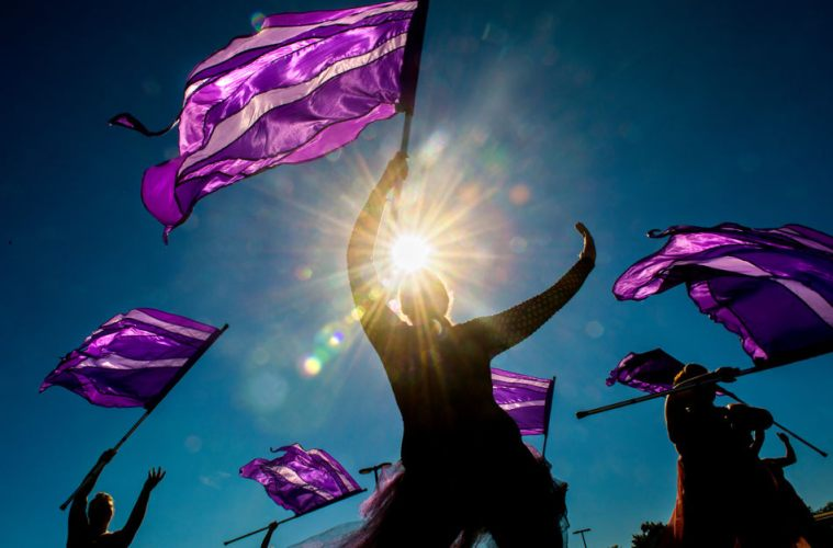 Letting Your Freak Flag Choreographically Fly: Why I Joined the Color Guard