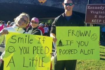 April Marathons May Bring Brown Showers