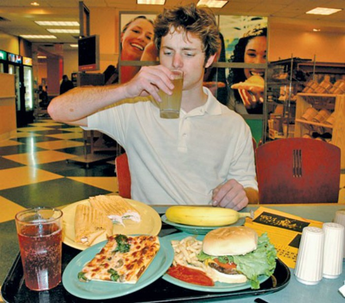 College Students Poor Food Choices Due to Stress