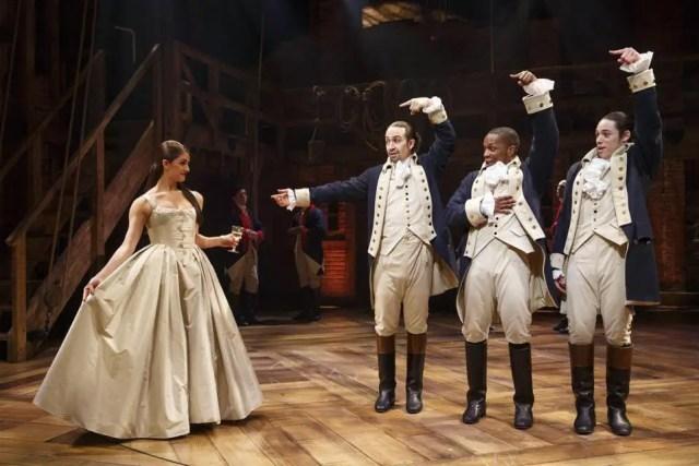 Scene from Hamilton